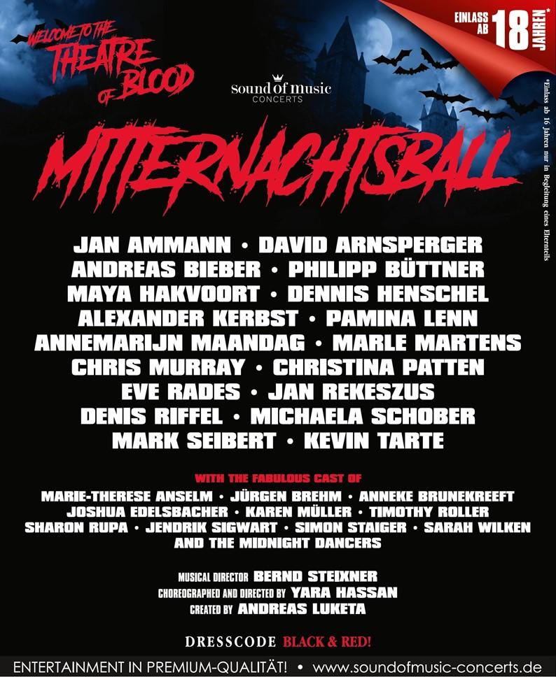 Mitternachtsball – Theatre of Blood