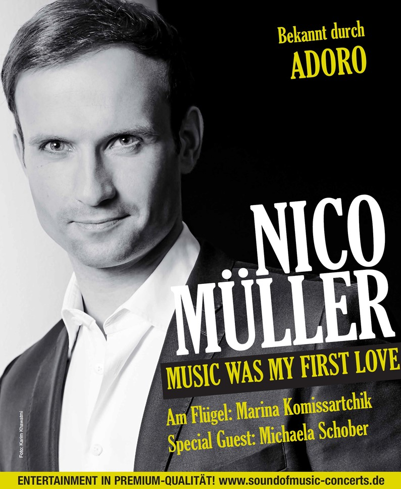 Nico Müller – Music Was My First Love