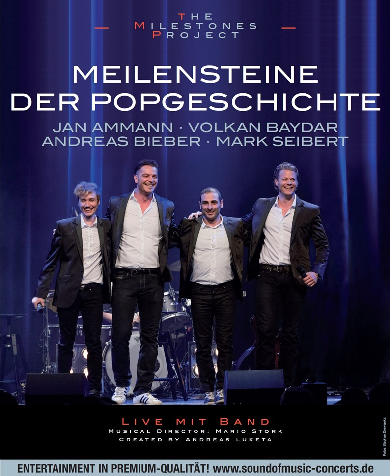 THE MILESTONES PROJECT – MEILENSTEINE DER POPGESCHICHTE