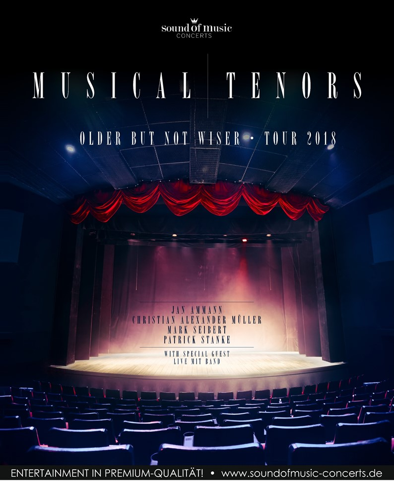 Musical Tenors – Older But Not Wiser Tour 2018