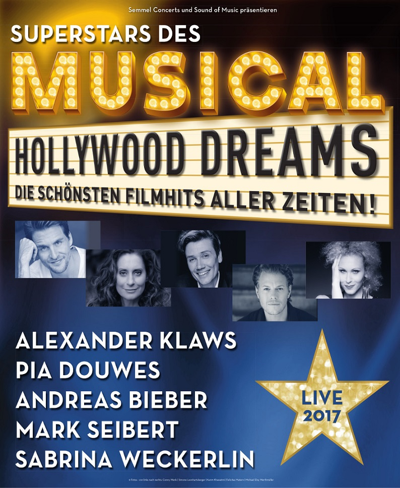 DIE SUPERSTARS DES MUSICAL – HOLLYWOOD DREAMS