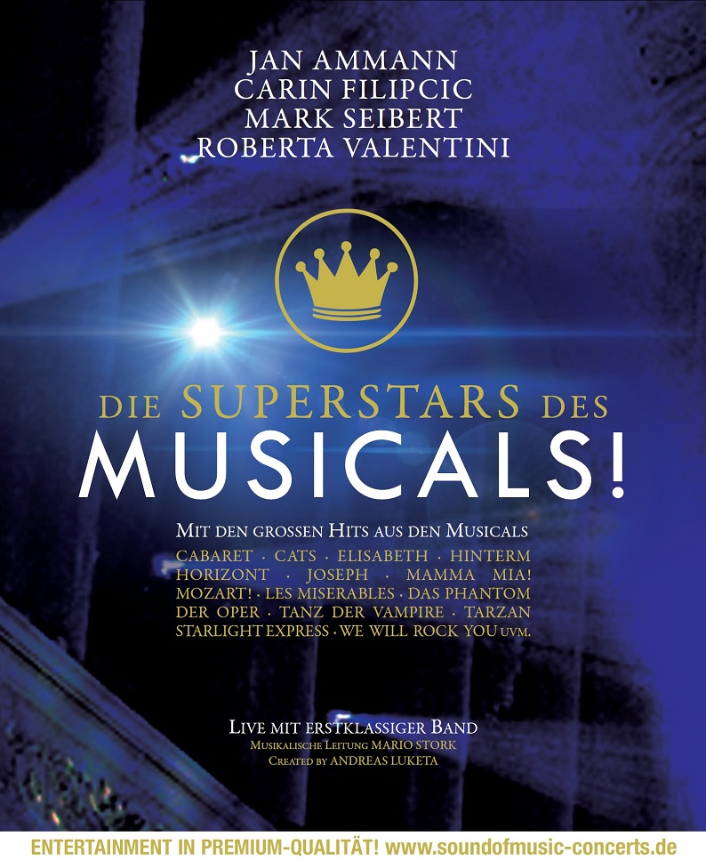 DIE SUPERSTARS DES MUSICALS!