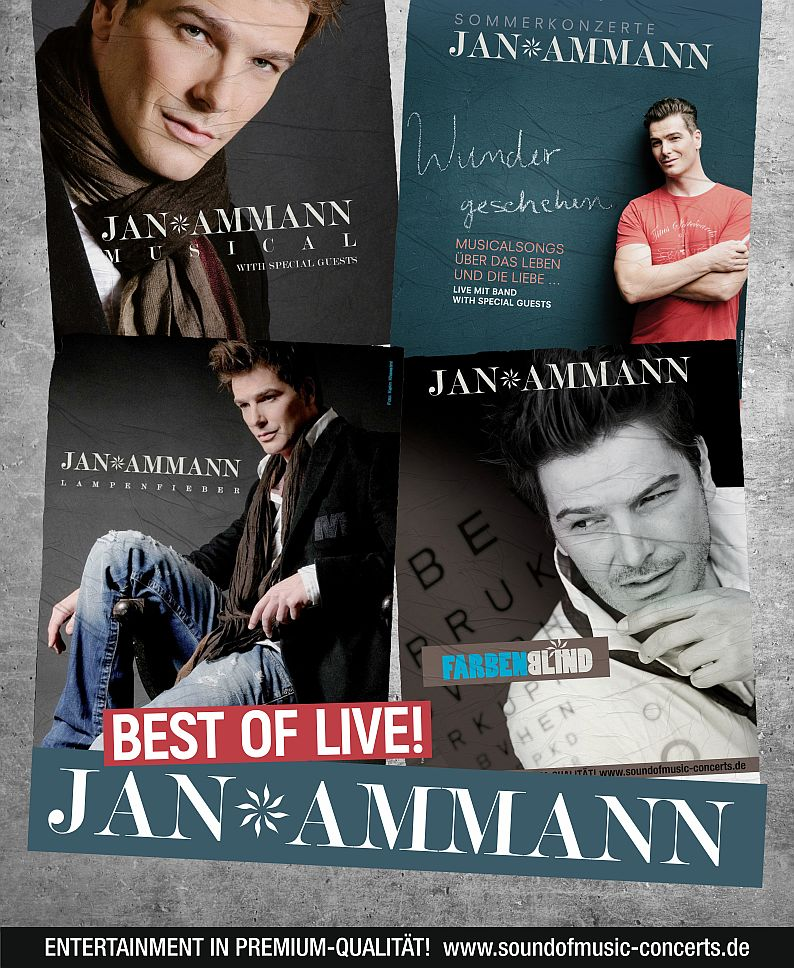 JAN AMMANN – BEST OF LIVE
