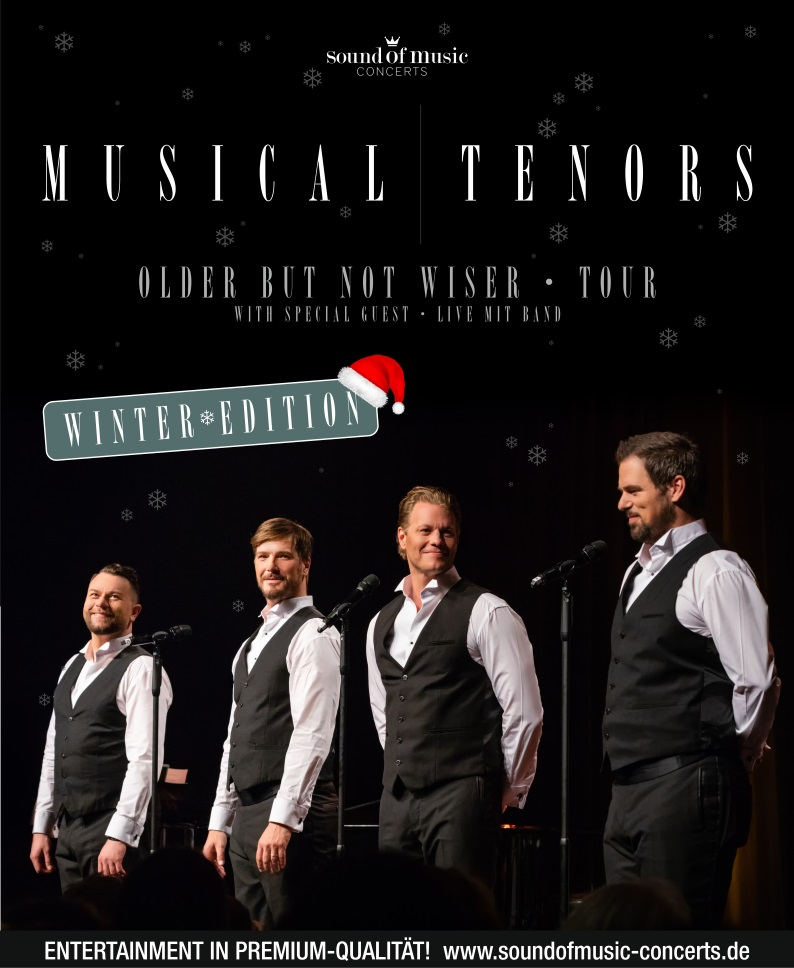 Musical Tenors – Older But Not Wiser Tour – WINTER EDITION