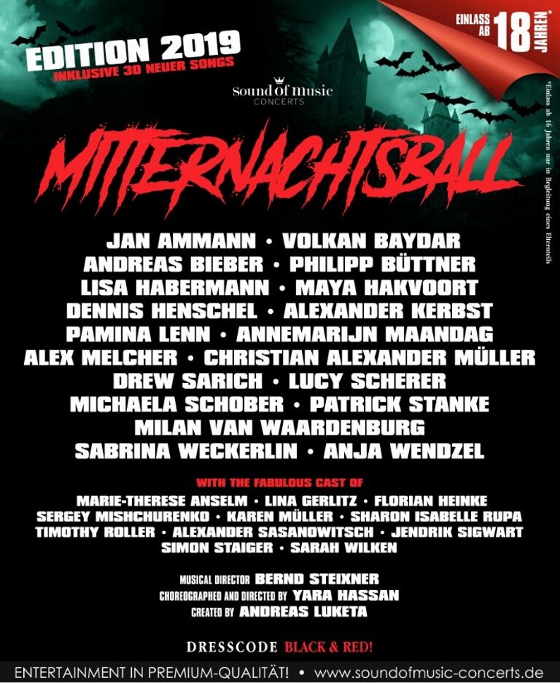 Mitternachtsball – Theatre Of Blood – Edition 2019
