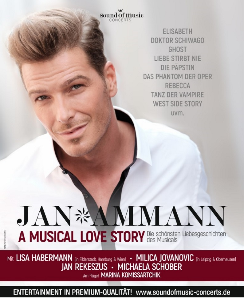 JAN AMMANN – A Musical Love Story