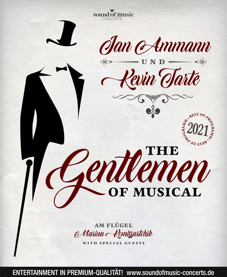 THE GENTLEMEN OF MUSICAL – JAN AMMANN & KEVIN TARTE