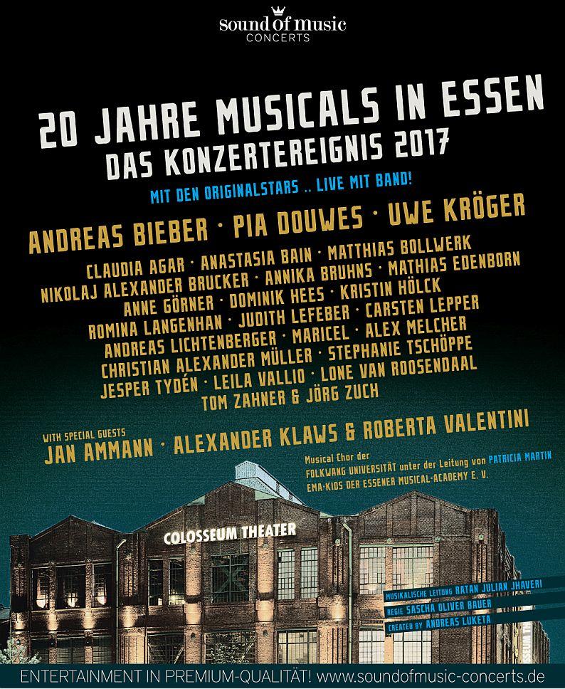 20 JAHRE MUSICALS IN ESSEN – DIE GROSSE COLOSSEUM-GALA