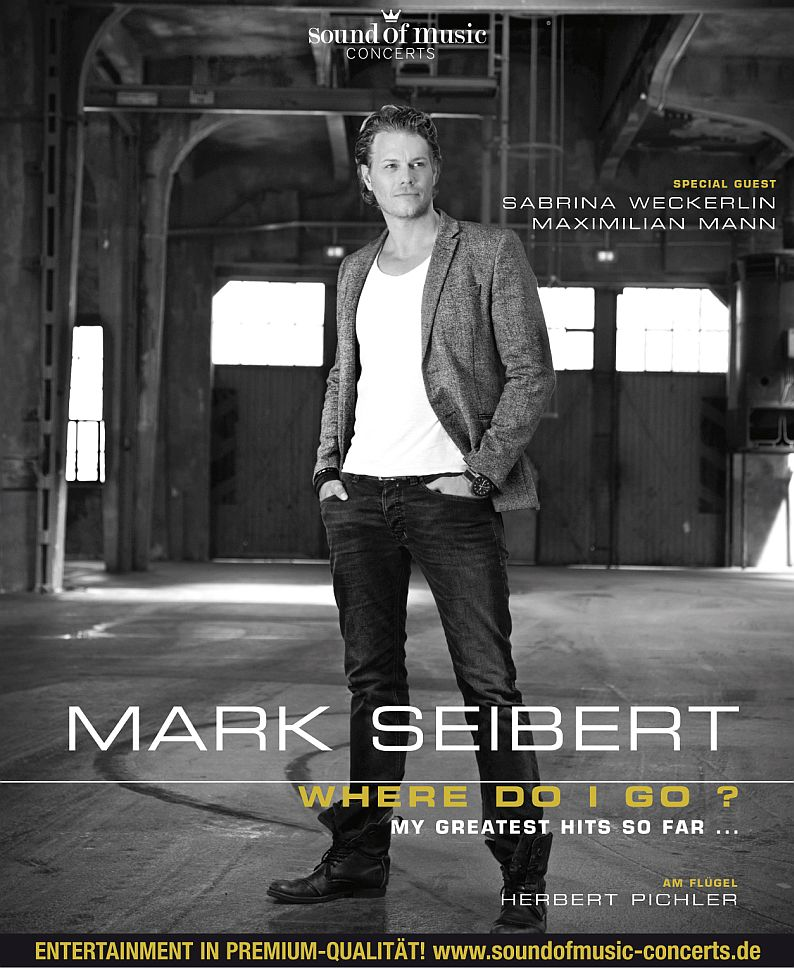 MARK SEIBERT – WHERE DO I GO ?