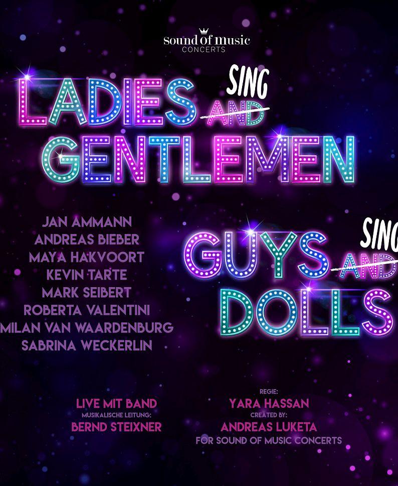 LADIES SING GENTLEMEN – GUYS SING DOLLS